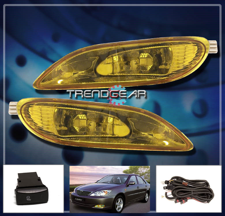 2002 2004 toyota camry solara 2005 2008 corolla jdm yellow fog light lamp swi. Black Bedroom Furniture Sets. Home Design Ideas