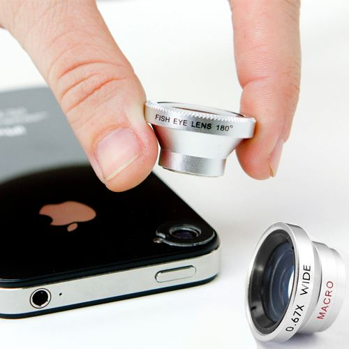 AmeriMax 3 Lens Wide Lens and Macro Lens and Fish Eye Lens for Samsung HTC Cell Phones at Sears.com