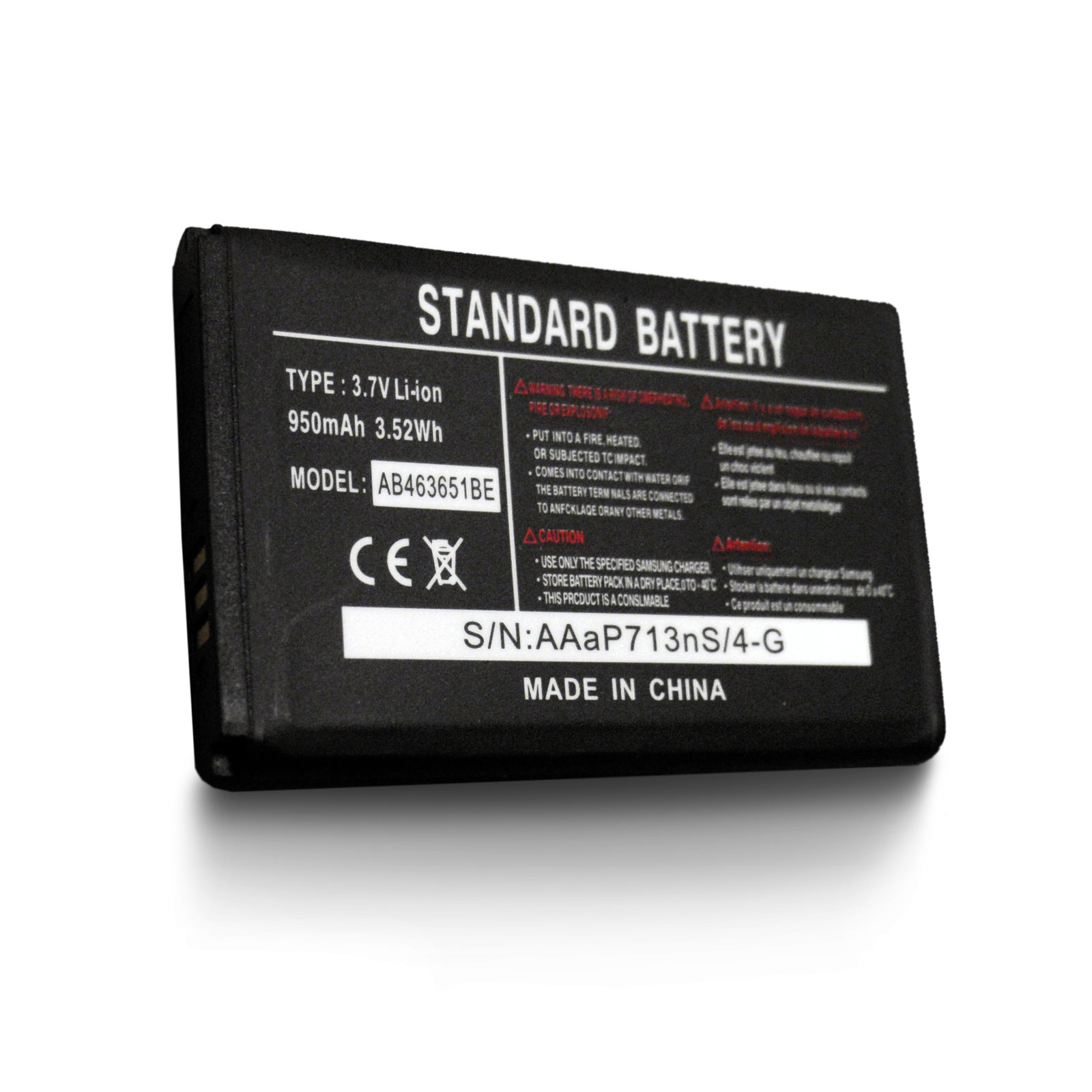AmeriMax New Mobile Cell Phone Battery for Samsung TracFone SCH-R451C Messager SPH-M330 SPH-M630 SPH-M550 Sprint at Sears.com