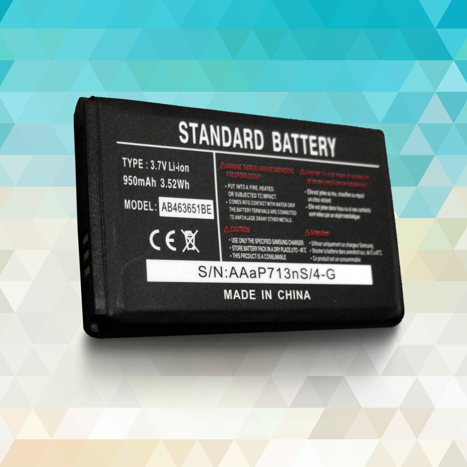 New cell phone battery for samsung ativ s gt i8750 i8750 omnia odyssey - Product Information