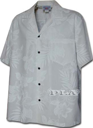 New-Mens-Traditional-White-Hawaiian-Wedding-Shirt