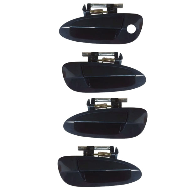 Set 4 Front Rear Outside Exterior Door Handle Left Right