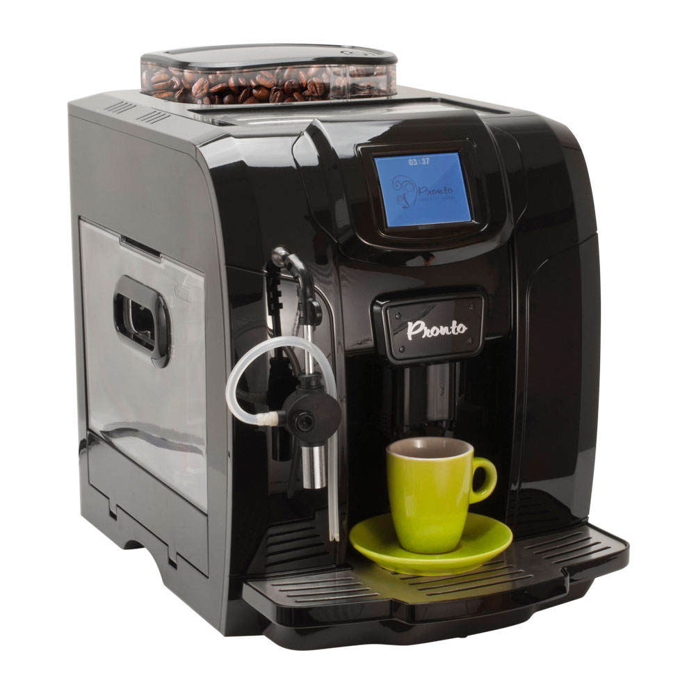 how to make a latte with a coffee machine