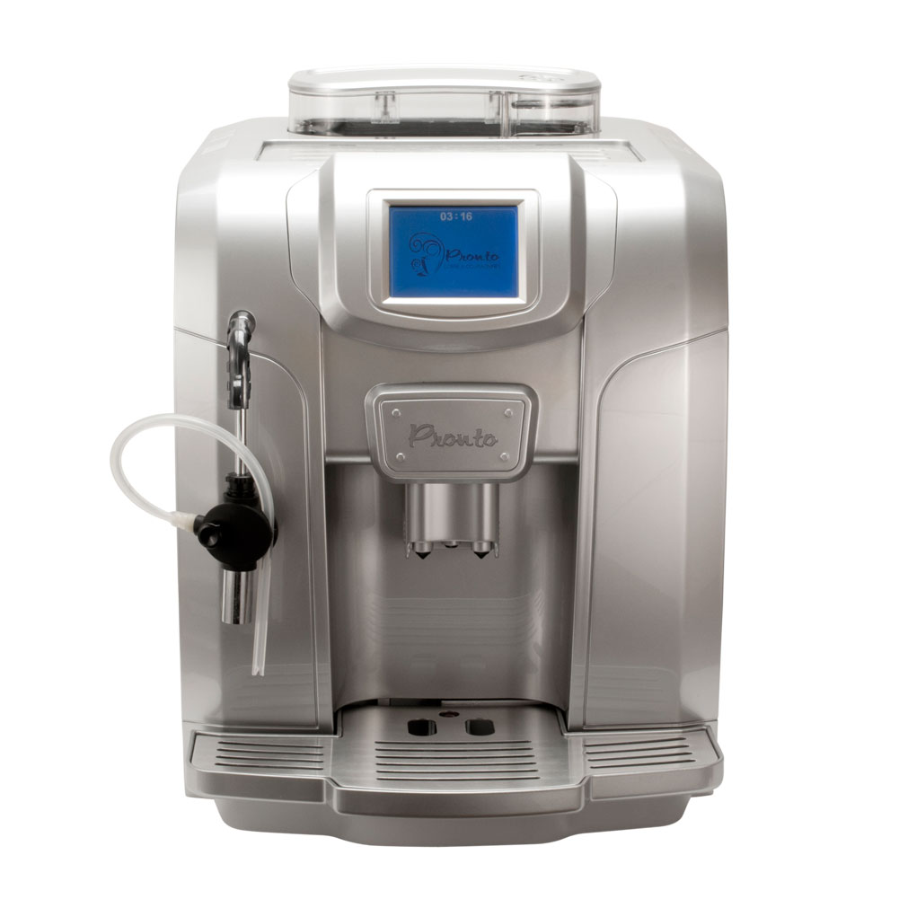 Automatic Espresso Coffee Makers ~ Pronto fully automatic coffee machine espresso
