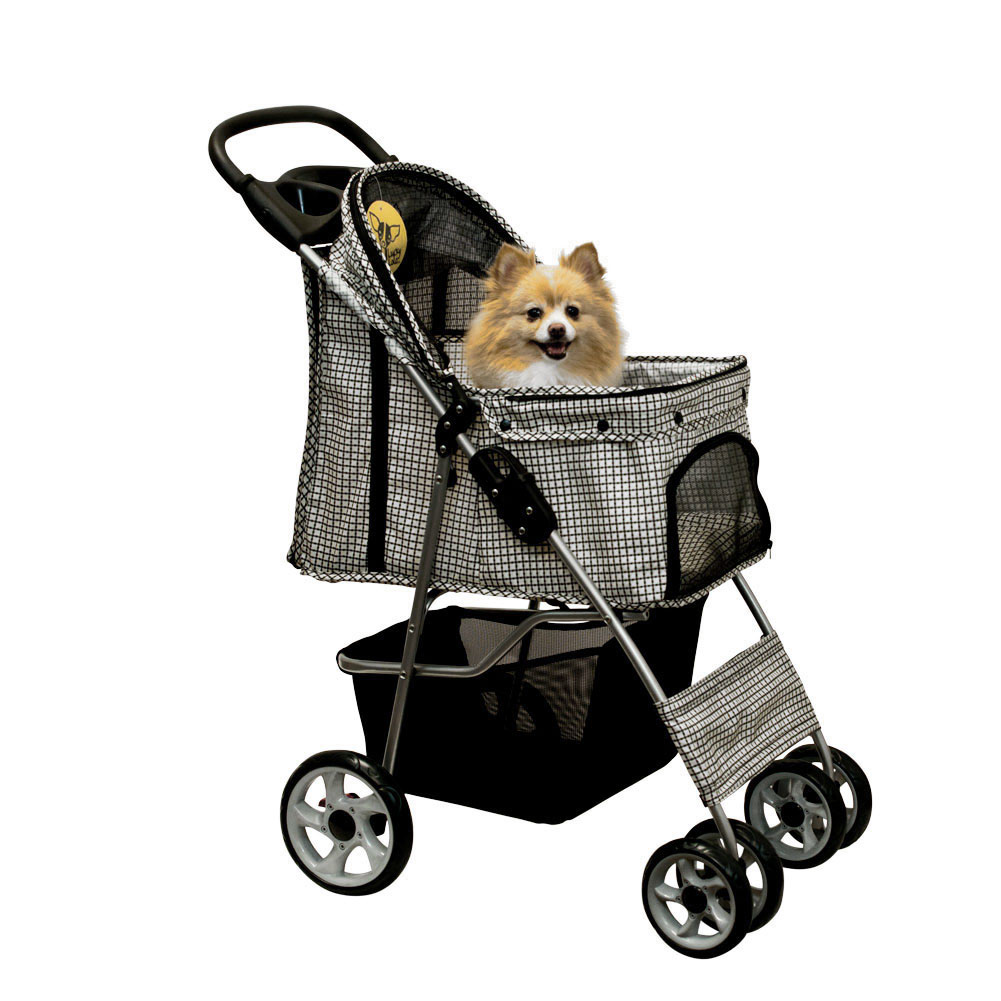 Lucky lola pet stroller dog cat folding carrier animal for Lucky lola