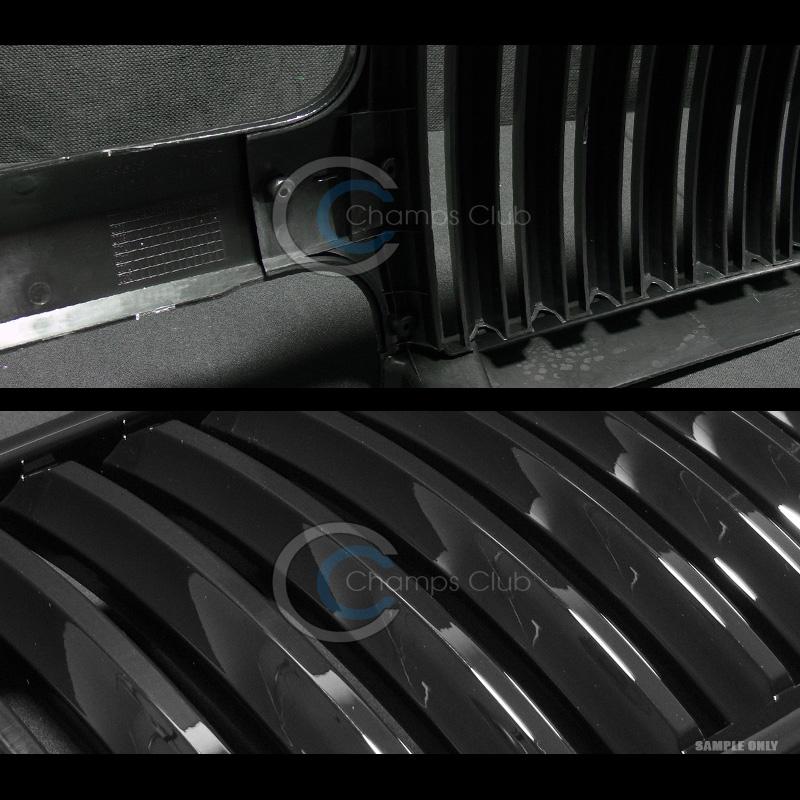 black vertical front grill grille 1999 2005 chevy silverado tahoe suburban ebay