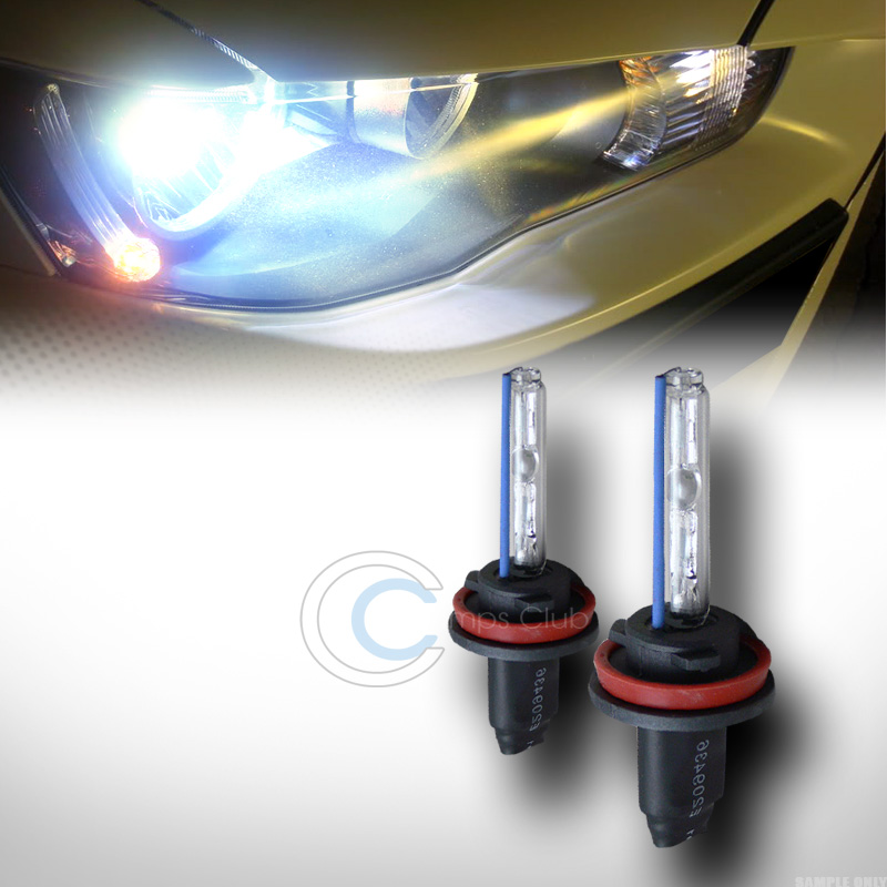 hid ballast%2bh11 10000k c 10000K HID XENON H11 DRIVING FOG LIGHTS LAMP BULB L+R CONVERSION KIT+BALLAST CA1