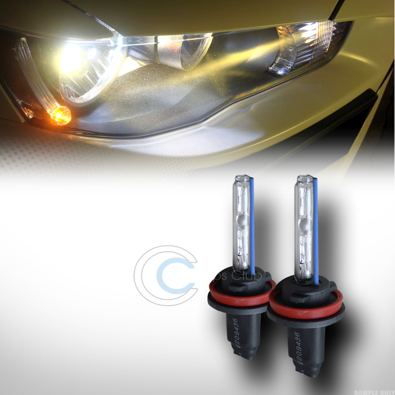hid ballast%2bh11 6000k c 6000K HID XENON H11 DRIVING FOG LIGHTS LAMP BULBS L+R CONVERSION KIT+BALLAST CA1