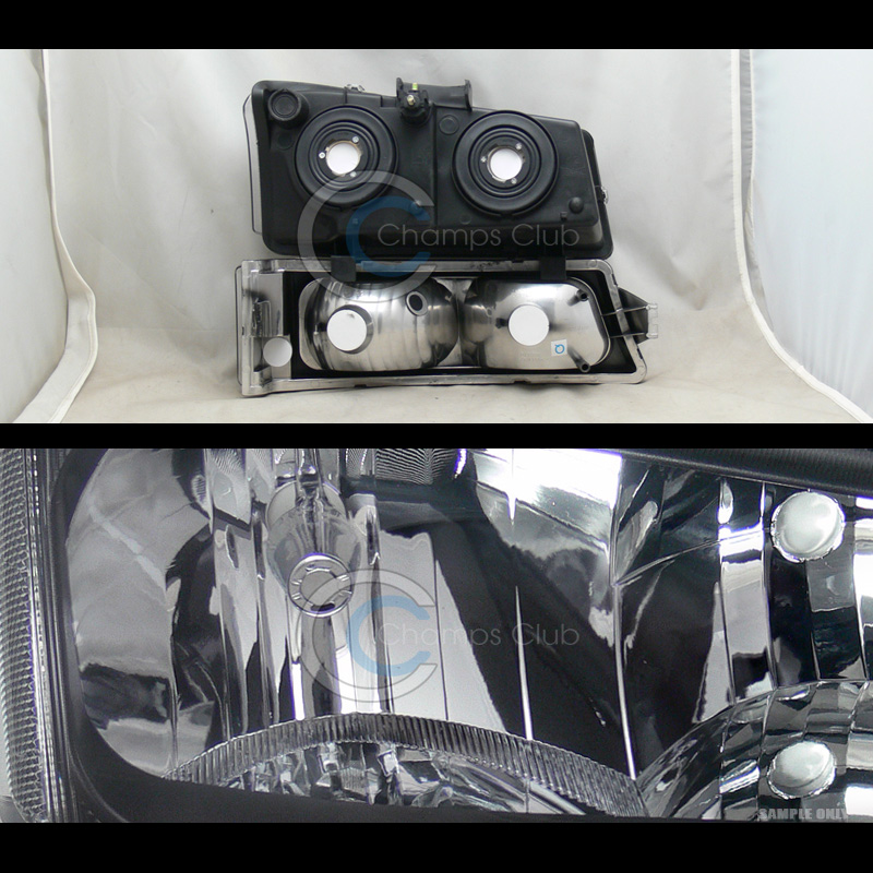10k Hid Xenon Black Headlight Lamp Bumper Signal 2003 2006