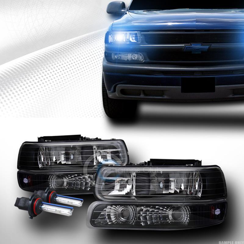 1999 Chevrolet S10 Regular Cab Camshaft: 10K HID XENON BLK HEAD LIGHTS SIGNAL AM 1999+ CHEVY/GMC