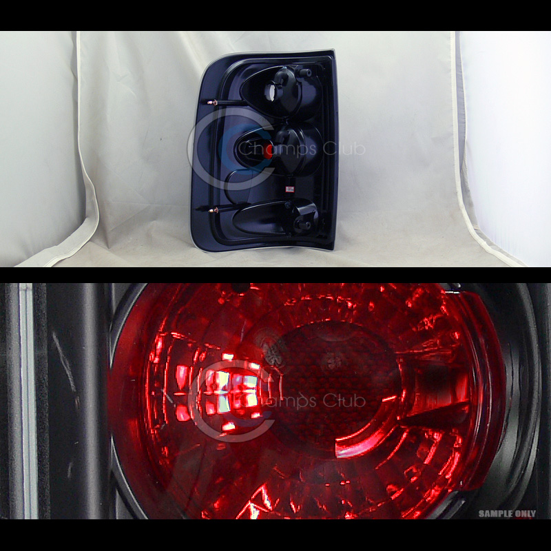 black housing altezza tail lights lamps 2004 2008 ford. Black Bedroom Furniture Sets. Home Design Ideas