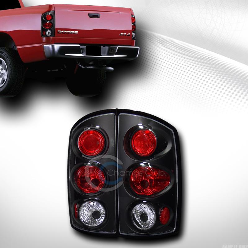 altezza tail lights lamps 2002 2006 dodge ram 1500 2500 pickup jy. Black Bedroom Furniture Sets. Home Design Ideas