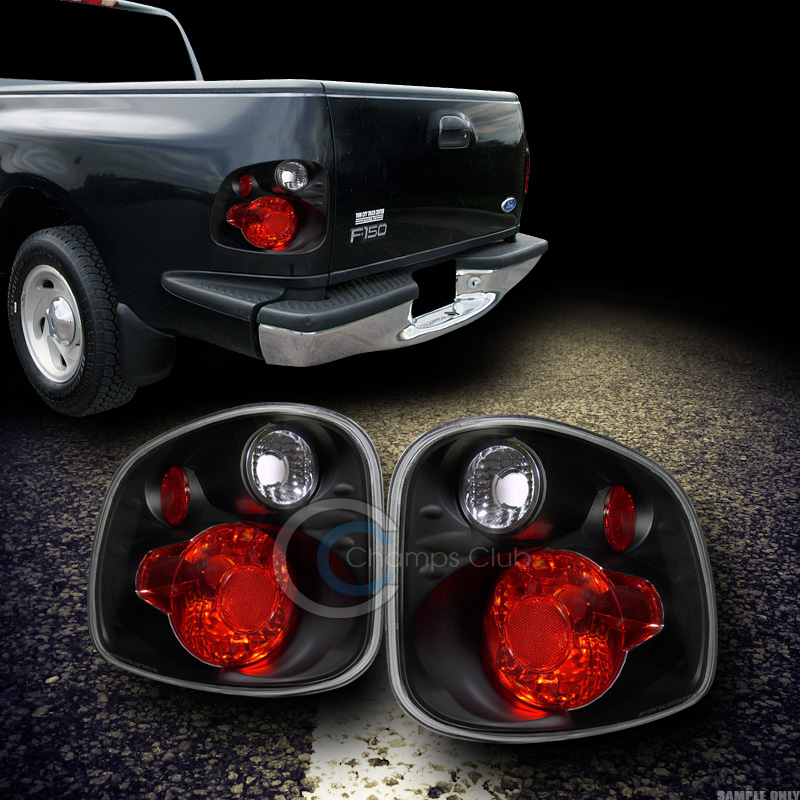 euro black sport altezza tail lights lamps v2 2001 2003 f150 flareside. Black Bedroom Furniture Sets. Home Design Ideas