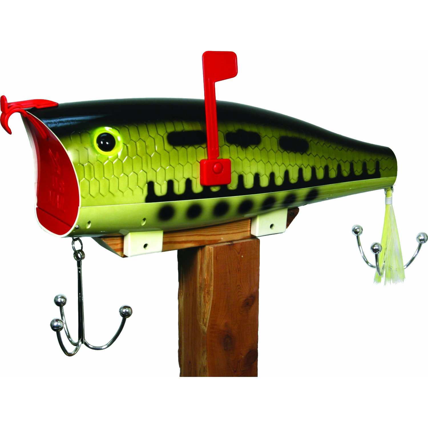 River 39 s edge fathers day bass fish popper fishing lure for Mail order fish