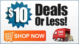 Deals $10 or Less Plus Free Shipping