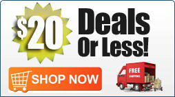 Deals $20 or Less Plus Free Shipping