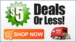 Deals $5 or Less Plus Free Shipping