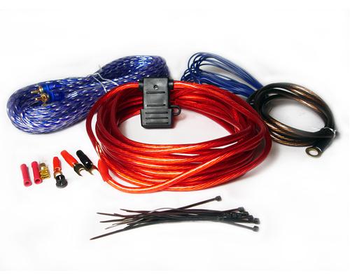 AMPKIT10 800 Watt 10 Gauge Car Amp Wiring Kit 784620026427