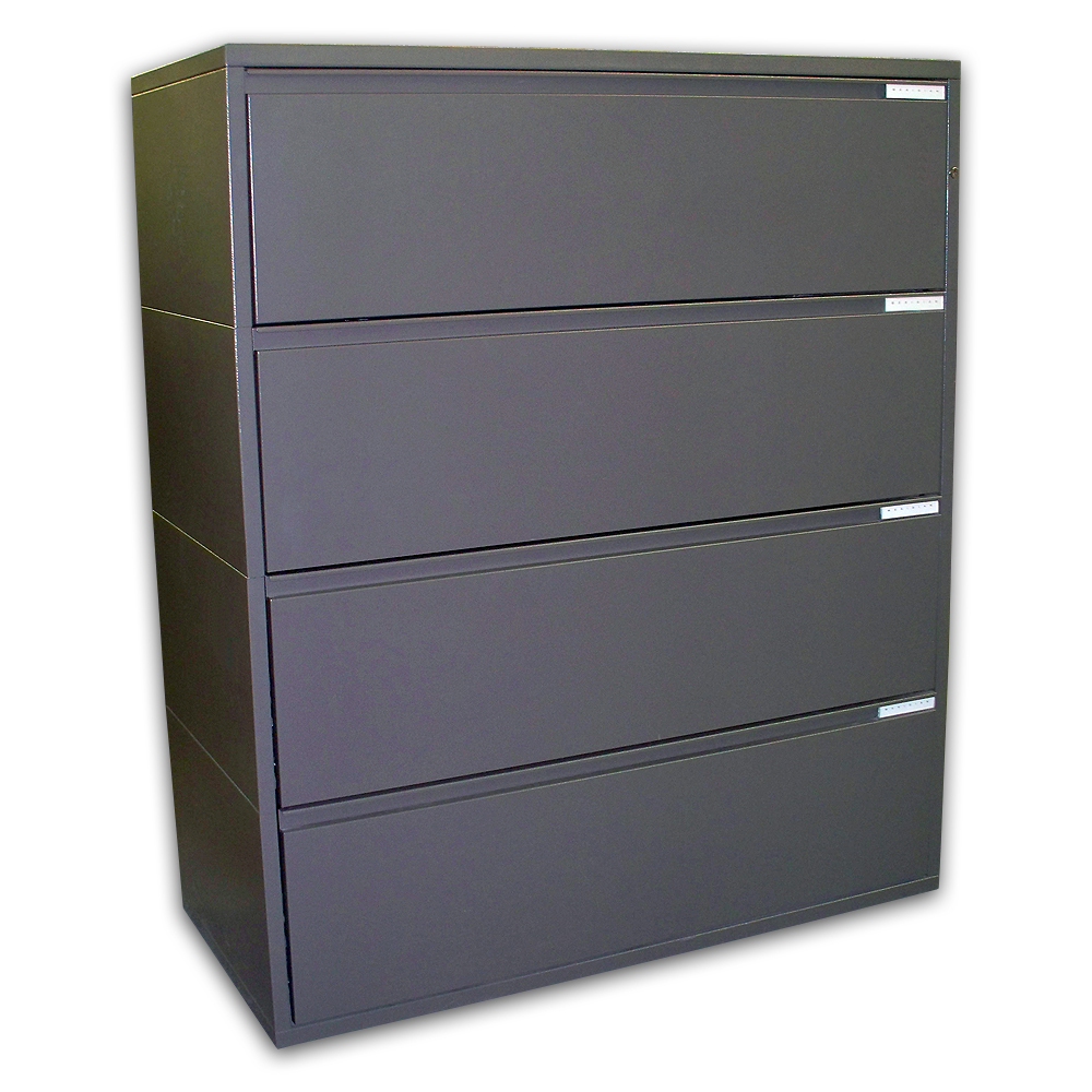 "Herman Miller 42"" Meridian 4-Drawer Lateral Files File ..."