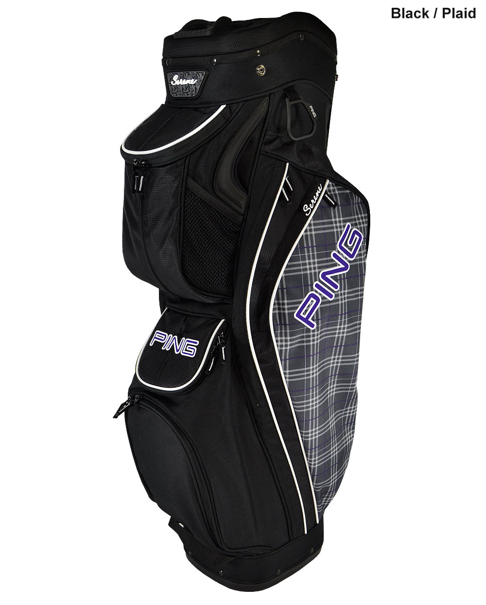 Amazing December 1, 2011  Nike Golf Is Introducing Two New Golf Bags To Its Successful Nike Brassie II Cart Bag Collection For Women In 2012  There Is A Grey Plaid Available The Nike Brassie II Cart Bag Incorporates Key Features And Benefits