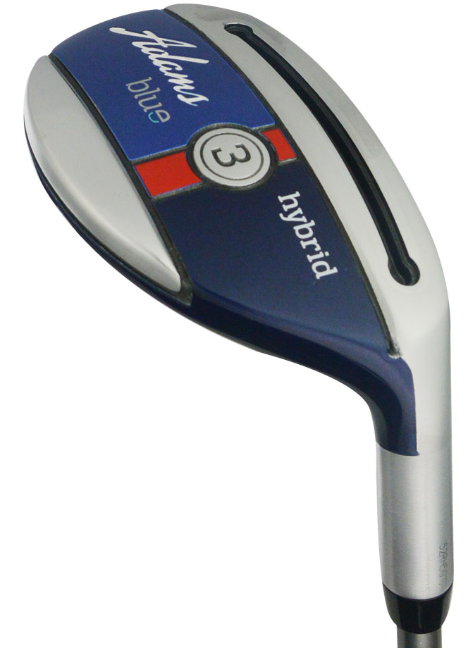 Adams Golf Blue Hybrid 20* #3 Stiff Flex