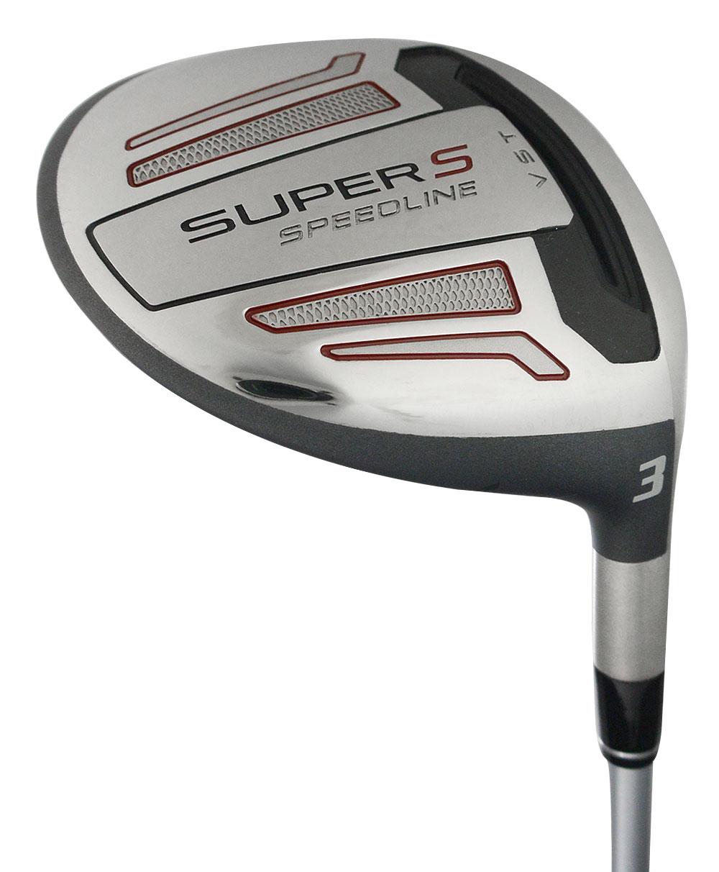 Adams Golf LH Speedline Super S Black Wood 15* #3 Stiff *