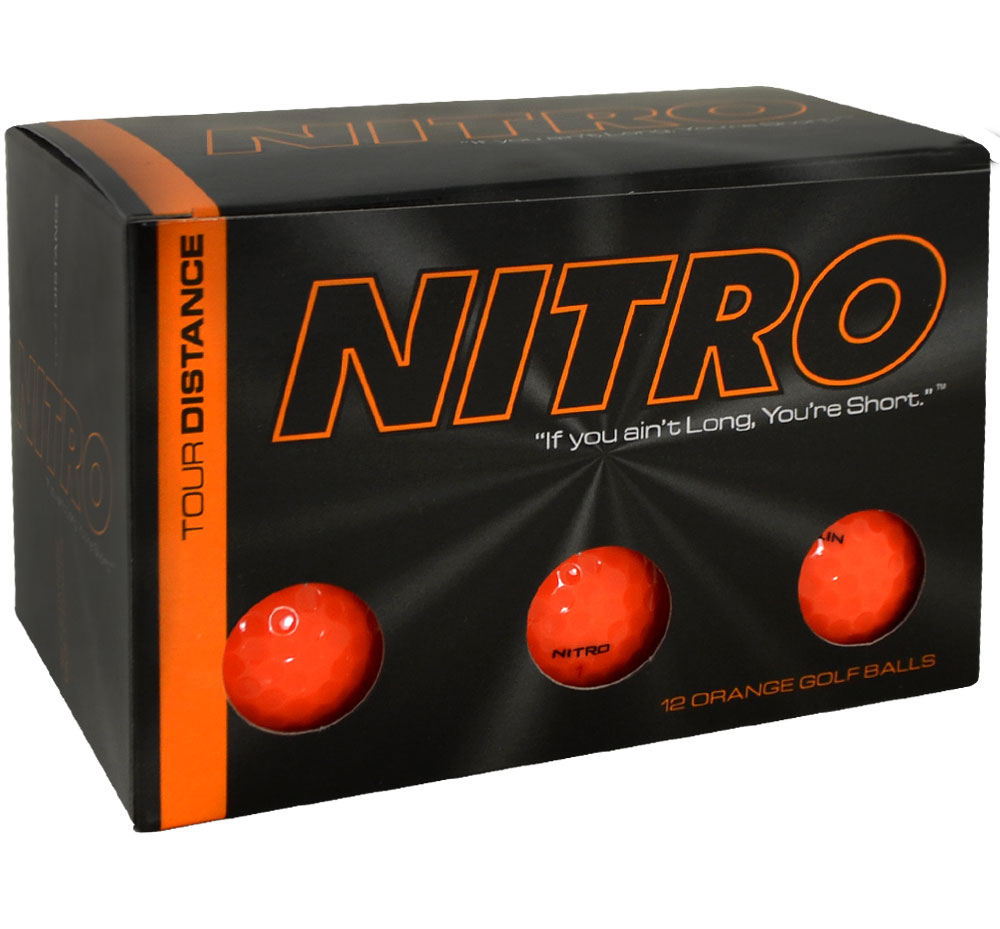 Nitro Tour Distance Golf Ball Review