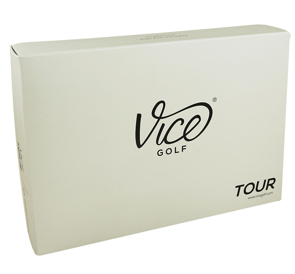 Vice- Tour Golf Balls White