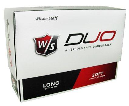 Wilson Staff Duo Golf Balls - LOGO ONLY