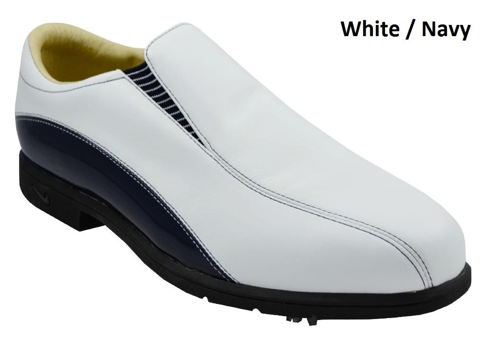 nike golf verdana slip on golf shoes 9 5 medium