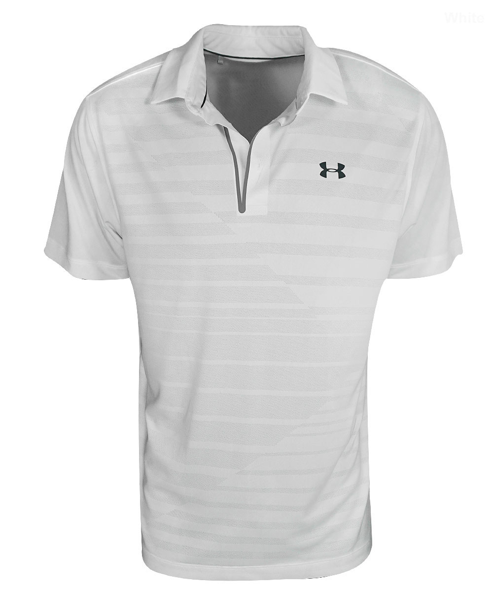 Under Armour Golf- CoolSwitch Jacquard Polo