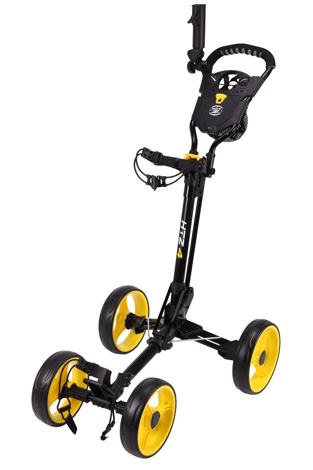 Hot-Z Golf 4.0 4 Wheel Push Cart   RockBottomGolf.com on solar golf cart, 4 wheel luggage cart folding, 4 wheel golf caddy, 4 wheel hose cart, 4 wheel golf scooter, 4 wheel hand cart, garden push cart, 4wd golf cart, clicgear push cart, all terrain golf cart, motorized pull cart, 4 wheel platform cart, funny golf cart, 4 wheel heavy duty flat carts, micro golf cart, cadie golf cart, 3 wheel golf cart, aluminum push cart, 4 wheel gas golf carts, 4 wheel bag boy push cart,