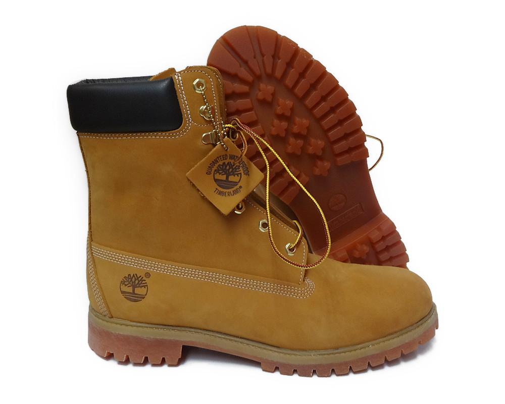 timberland 8 inch premium wheat black mens boot size 8 5