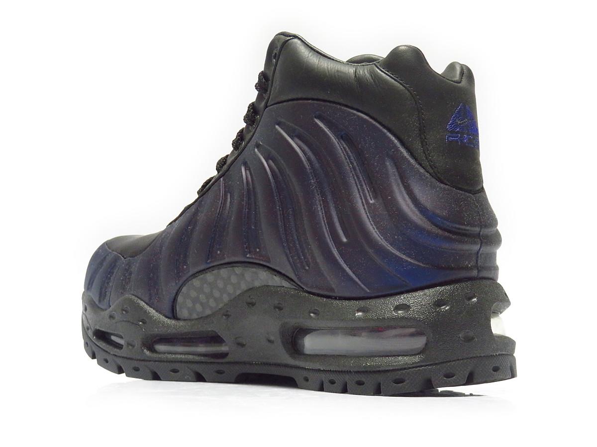 e8900c7ad1ff 333791-504 Nike Foamposite Boot Varsity Purple Black Metallic Silver  B08001  buy nike foamposite boots