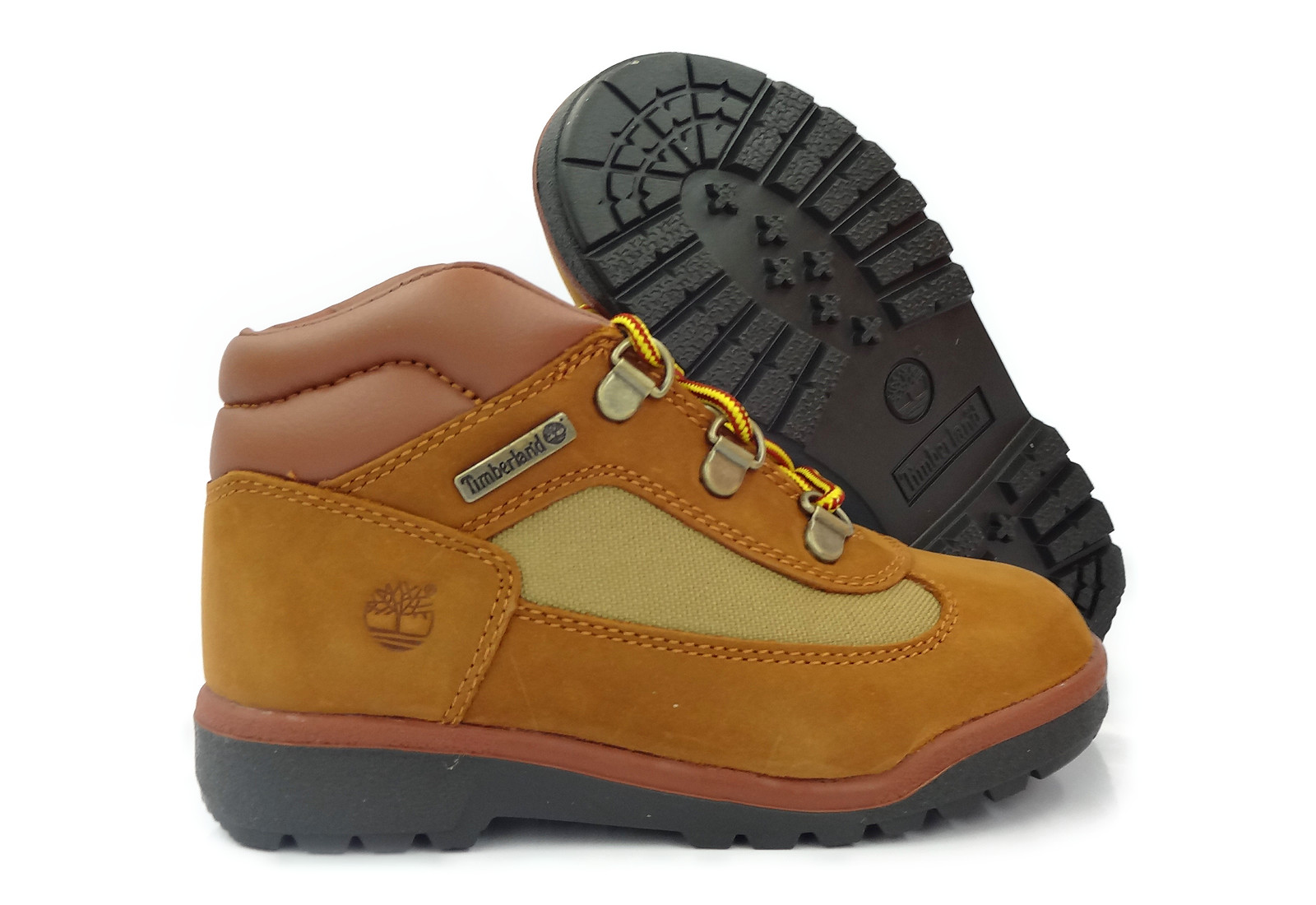 timberland field boot brown black boots toddlers baby size