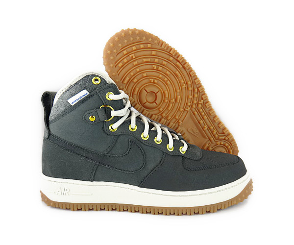 nike air 1 duck boot anthracite white gold mens