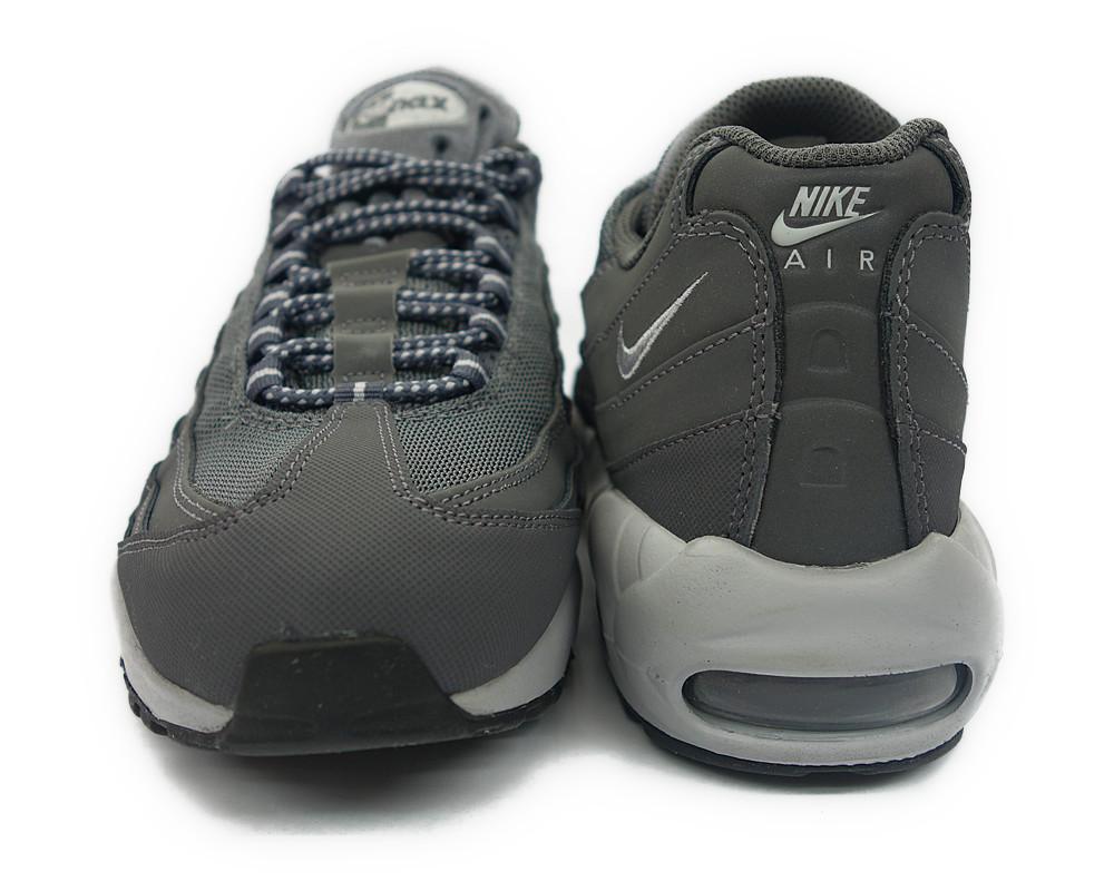 609048 088 nike air max 95 grey black mens sneakers size
