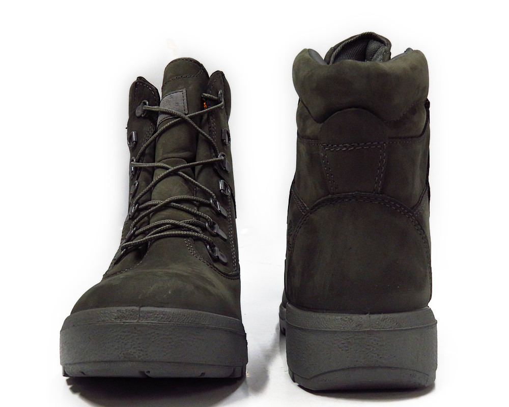 a13b7 timberland field 6 inch grey mens boots size 10 ebay