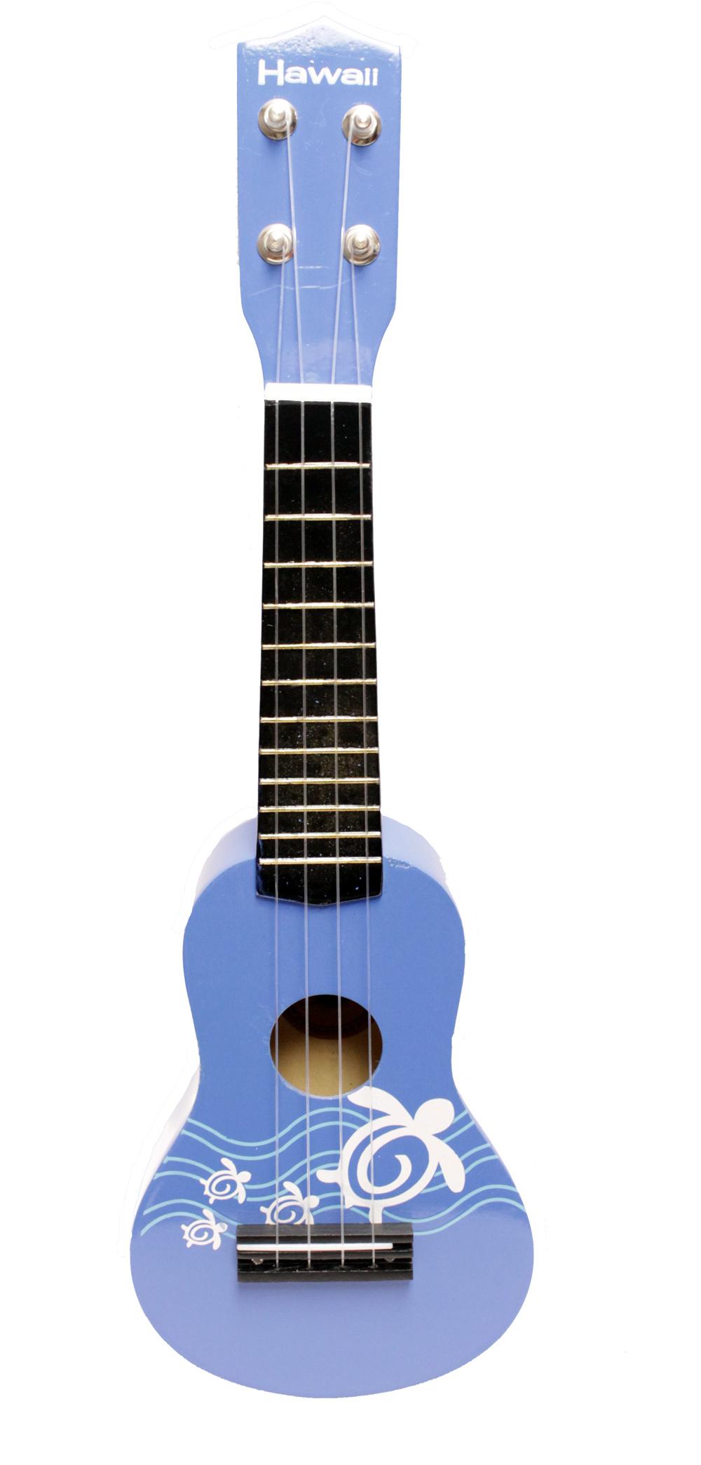 New-21-034-Hawiian-Luau-Party-Toy-Ukulele-Guitar-with-Nylon-Strings