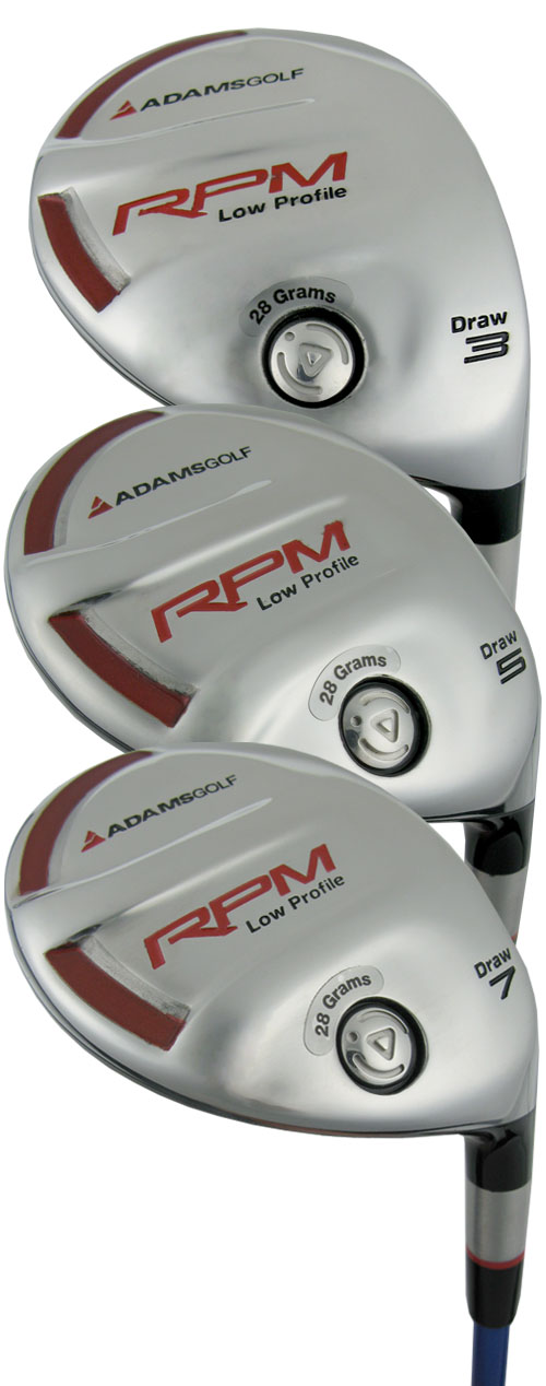 Adams Golf RPM LP Fairway Woods and Sets
