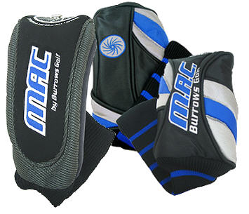 Burrows MAC Golf  Headcovers - Hybrid, Driver, Wood, Putter