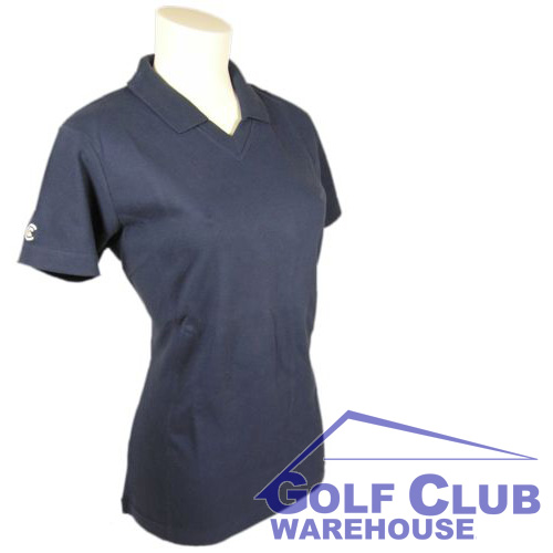 Cleveland Golf Polo Shirt Ladies V-Neck & Collar S M L