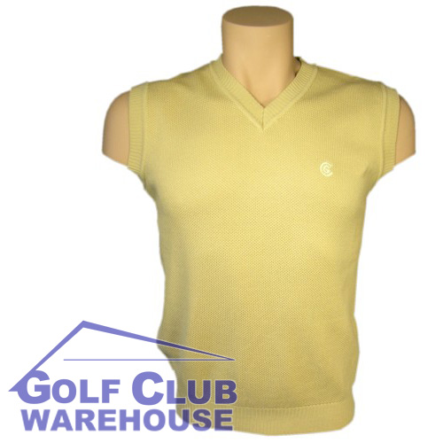 Cleveland Golf Vest V-Neck Sleeveless Wool Top - XL, 2XL