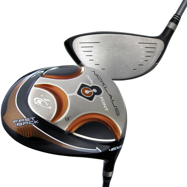 Nicklaus Golf Driver Dual Point Fast Back RH