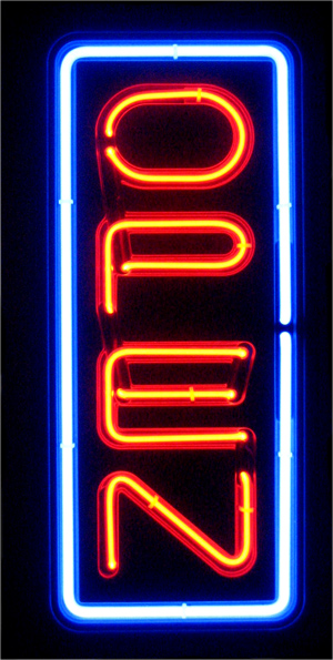 vertical neon open sign light open signs restaraunt business bar. Black Bedroom Furniture Sets. Home Design Ideas