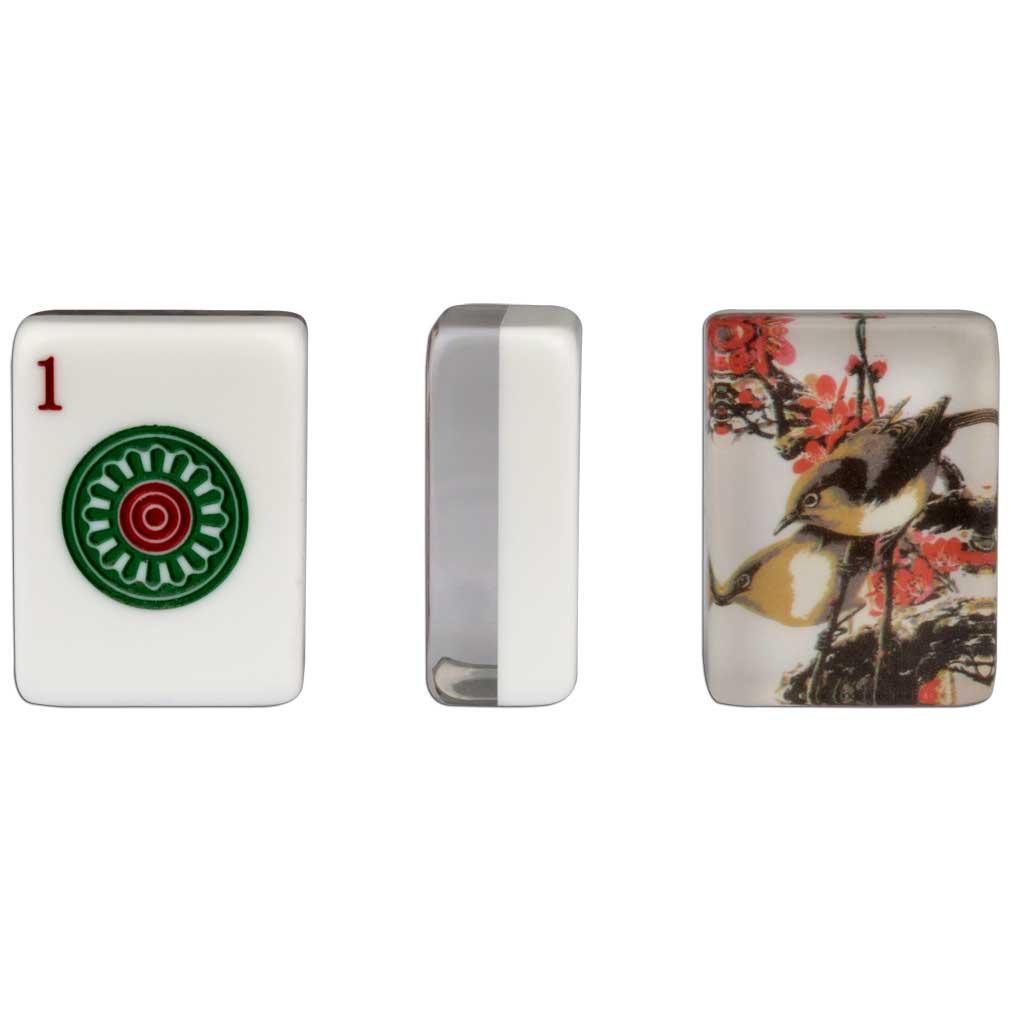 american mahjong set of 166 tiles little bird ebay