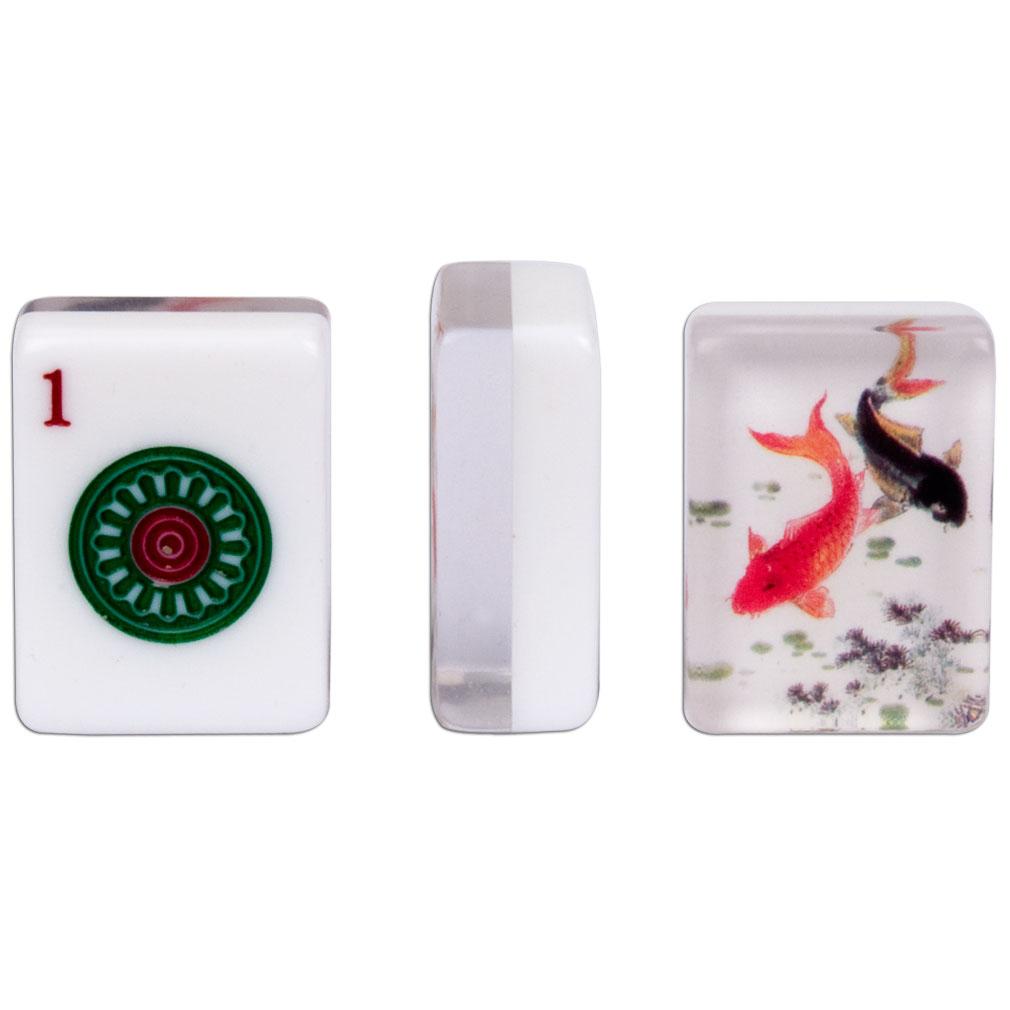 american mahjong set of 166 tiles koi ebay