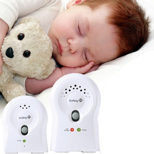 Safety-1st-Crystal-Clear-Audio-2-Channel-Baby-Monitor-with-Belt-Clip