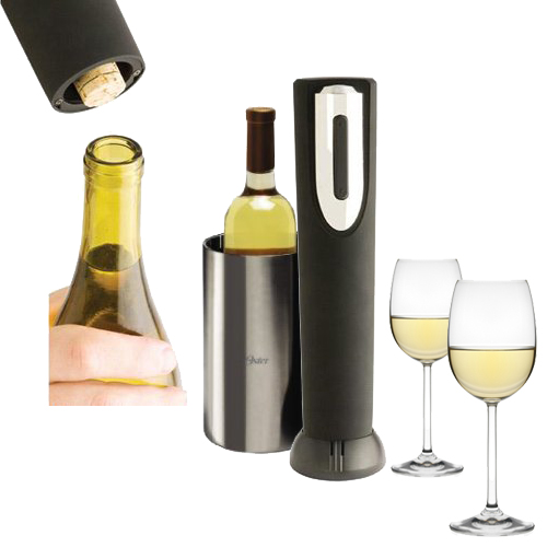 American-Era-Electric-Corkscrew-Wine-Bottle-Opener-Battery-Operated-Black