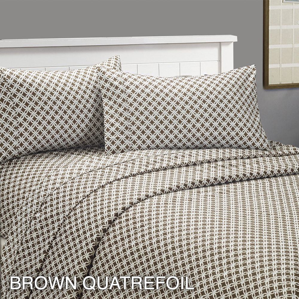 piece set cozy homes ultrasoft deep pocket printed bed sheets  - piecesetcozyhomesultrasoftdeep